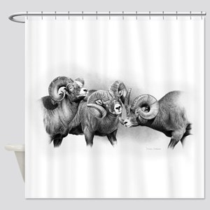 Bighorn Sheep Shower Curtains
