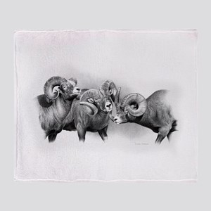 Rams Throw Blanket