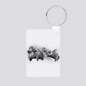 Rams Aluminum Photo Keychain