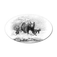 Black Bear Decal Wall Sticker