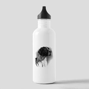 German Short Hair Stainless Water Bottle 1.0L