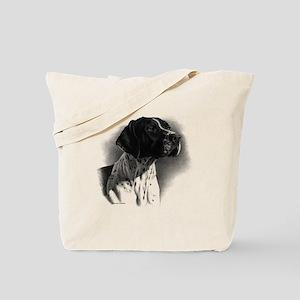German Short Hair Tote Bag