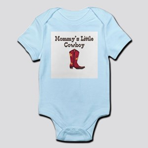 Mommy's Little Cowboy Infant Creeper