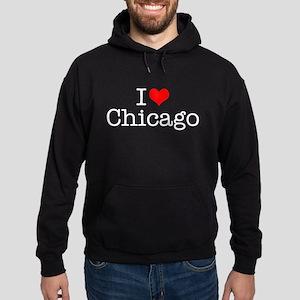 I Love Chicago Hoodie (dark)