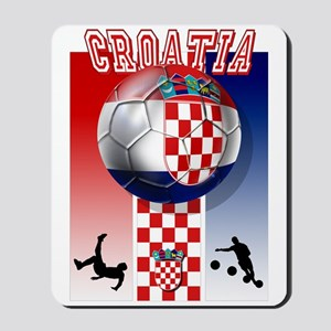 Croatian Football Mousepad