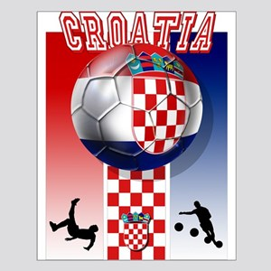 Croatian Football Small Poster
