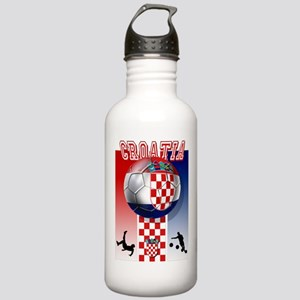 Croatian Football Stainless Water Bottle 1.0L