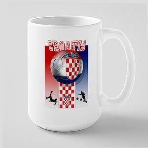 Croatian Football Large Mug