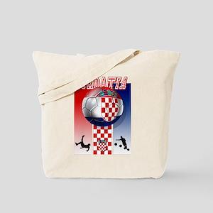 Croatian Football Tote Bag