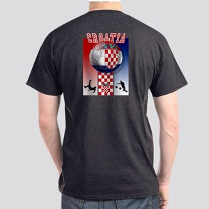 Croatian Football Dark T-Shirt