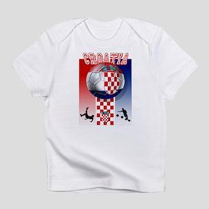 Croatian Football Infant T-Shirt