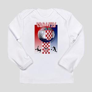 Croatian Football Long Sleeve Infant T-Shirt