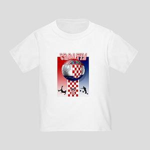 Croatian Football Toddler T-Shirt
