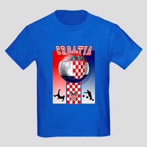 Croatian Football Kids Dark T-Shirt