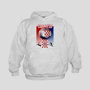 Croatian Football Kids Hoodie