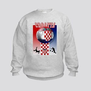 Croatian Football Kids Sweatshirt
