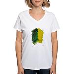 Character #16 Women's V-Neck T-Shirt