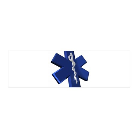 Star of Life Logo 36x11 Wall Decal