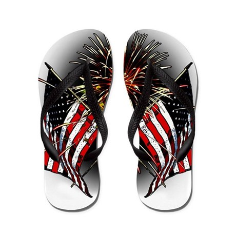 Celebrate America Flip Flops