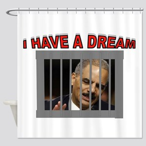 HOLDER JUSTICE Shower Curtain