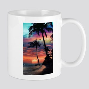 Tropical Sunset Mugs