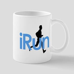 iRun in Blue Mug