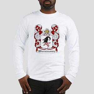 Wieruszowa Coat of Arms Long Sleeve T-Shirt