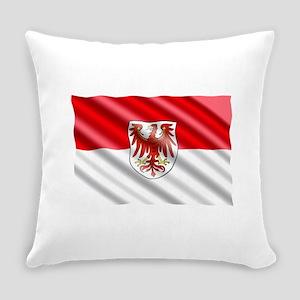 Brandenburg Flag Everyday Pillow