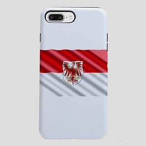 Brandenburg Flag iPhone 7 Plus Tough Case