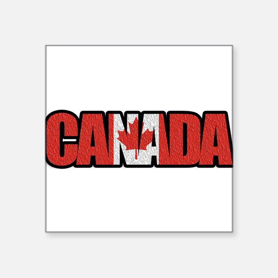 Canada Word Sticker