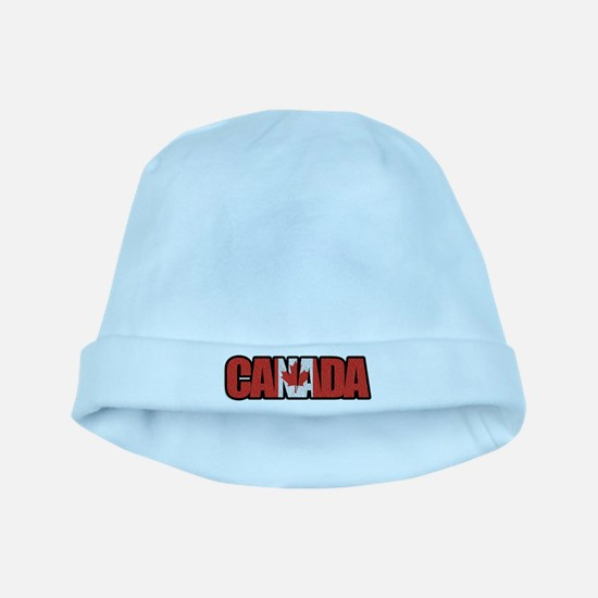Canada Word Baby Hat