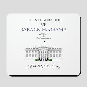 Inauguration of Barack H. Obama 2013 Mousepad