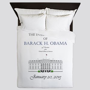 Inauguration of Barack H. Obama 2013 Queen Duvet