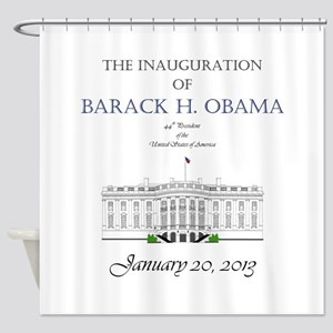 Inauguration of Barack H. Obama 2013 Shower Curtai