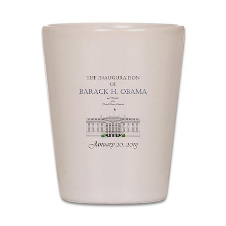 Inauguration of Barack H. Obama 2013 Shot Glass