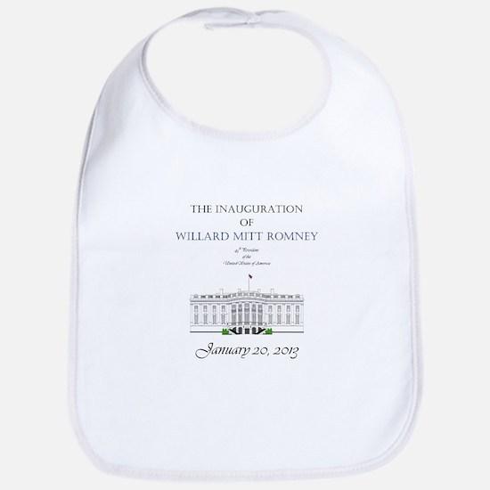 Inauguration of Willard Mitt Romney 2013 Bib