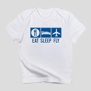 Eat Sleep Fly Baby Shirt