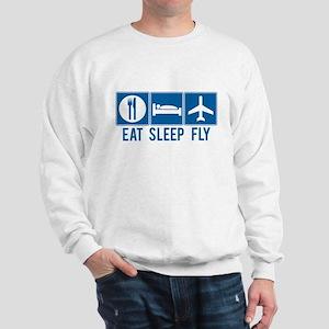 Eat Sleep Fly Sweatshirt