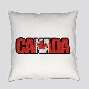 Canada Word Everyday Pillow
