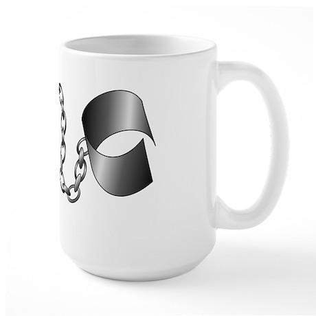 Ball and Chain Large Mug