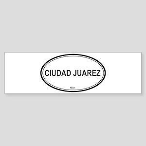 Ciudad Juarez, Mexico euro Bumper Sticker