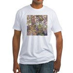 Nature's Floral Arrangement Fitted T-Shirt