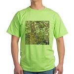 Nature's Floral Arrangement Green T-Shirt