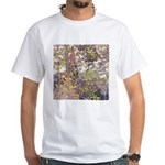Nature's Floral Arrangement White T-Shirt