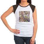 Nature's Floral Arrangement Women's Cap Sleeve T-S