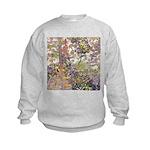 Nature's Floral Arrangement Kids Sweatshirt