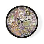 Nature's Floral Arrangement Wall Clock