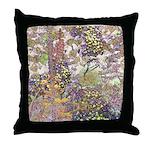 Nature's Floral Arrangement Throw Pillow