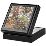 Nature's Floral Arrangement Keepsake Box