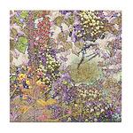 Nature's Floral Arrangement Tile Coaster
